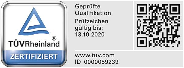 Bausachverständiger für Immobilienbewertung mit TÜV Rheinland geprüfter Sachkunde (PersCert TÜV Rheinland) - Opt-Eynde, Sankt Augustin