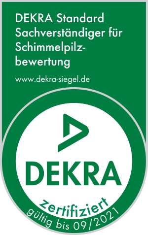 DEKRA zertifizierter Bausachverständiger für Schimmelpilzbewertung