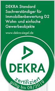 DEKRA zertifizierter Sachverständiger für Immobilienbewertung